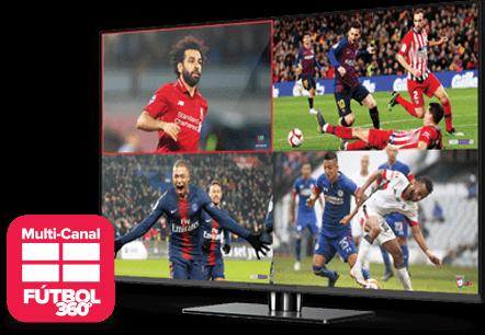 Multi Channel - Fútbol 360 - Chicago, IL - Nezell Co. - Distribuidor autorizado de DISH