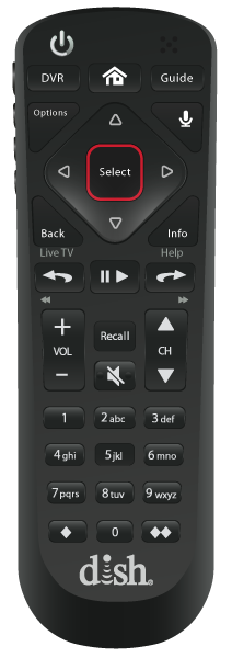 Control remoto de voz - Chicago, IL - Nezell Co. - Distribuidor autorizado de DISH