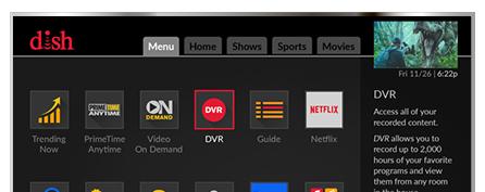 Vea television con DISH - Nezell Co. en Chicago, IL - Distribuidor autorizado de DISH